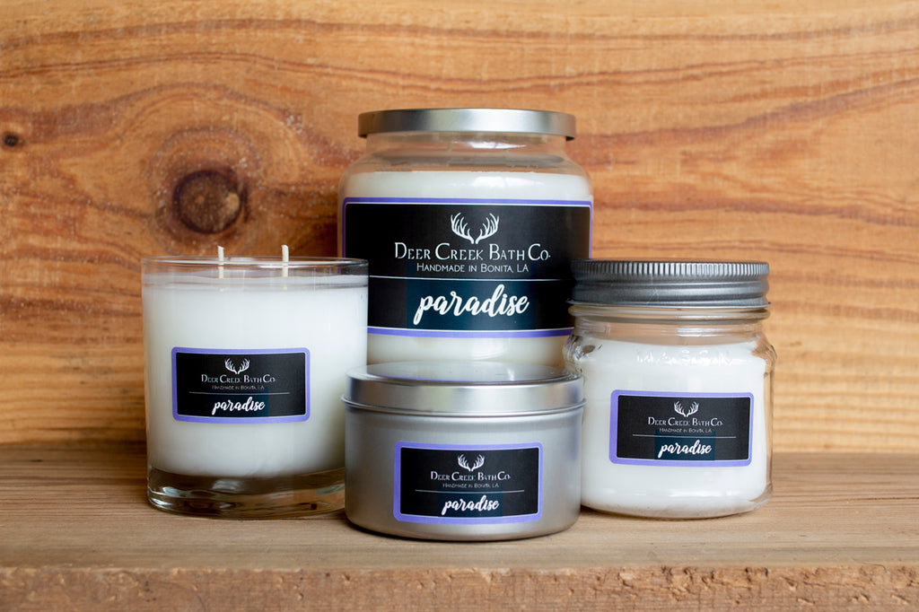 Paradise Candles and Wax Melts