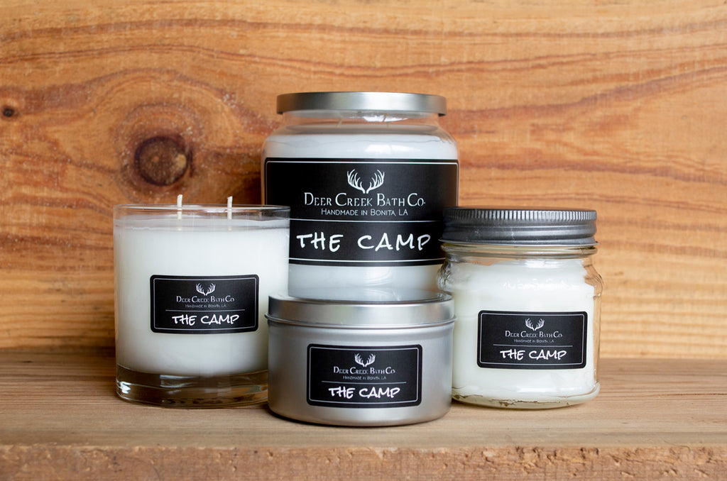 The Camp Candles and Wax Melts