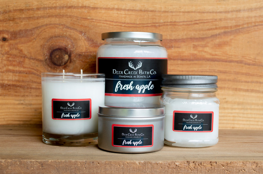 Fresh Apple Candles and Wax Melts