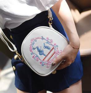 Alice In Wonderland Embroidery Shoulder Bags