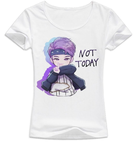 K-POP BTS Not Today Women T-shirt