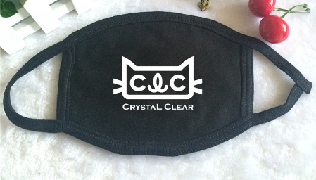 K-POP CLC Crystal Clear Album Logo Mouth Face Mask