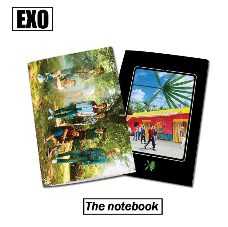 K-POP EXO The War KOKOBOP Diary Book