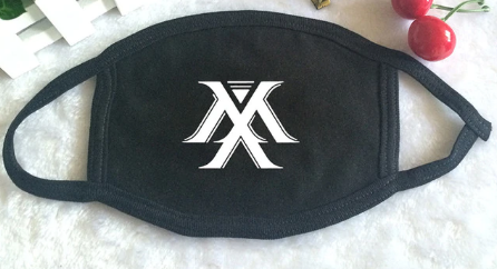 K-POP MONSTA X Be Beautiful Album World Tour Logo Mouth Face Mask