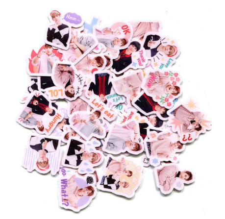 KPOP SHINee Decal Stickers 40pcs/set