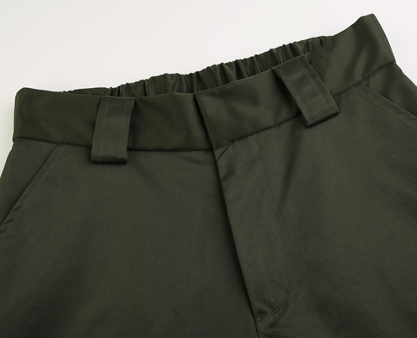 High Waist Green Harem Pants