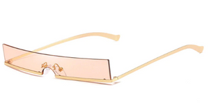 Fashion Metal Frame Small Sunglasses