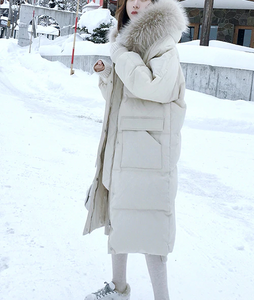 Winter Long Jacket Trench Cotton Padded Warm Coat
