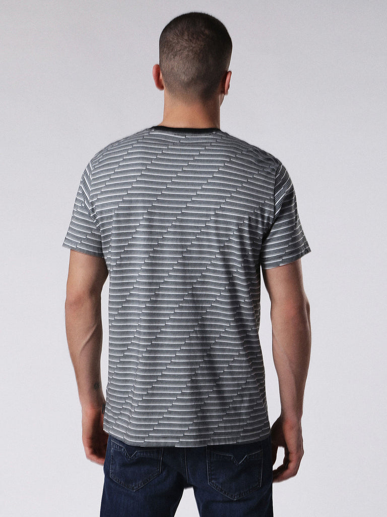 Diesel - Alanis yarn-dyed soft cotton t-shirt