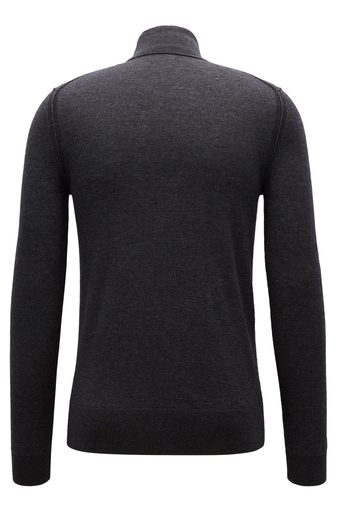 BOSS Orange - Arkoll Turtle-neck sweater in knitted fabric