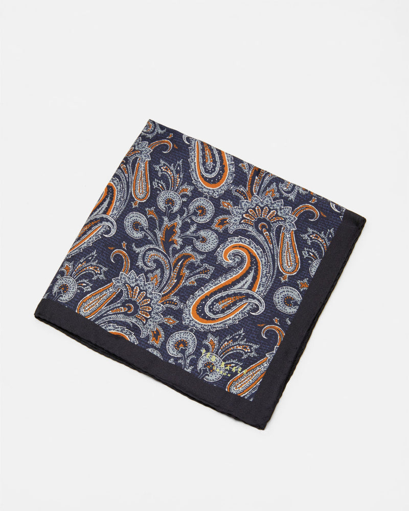 Ted Baker - Bouley Pocket Square (Navy)