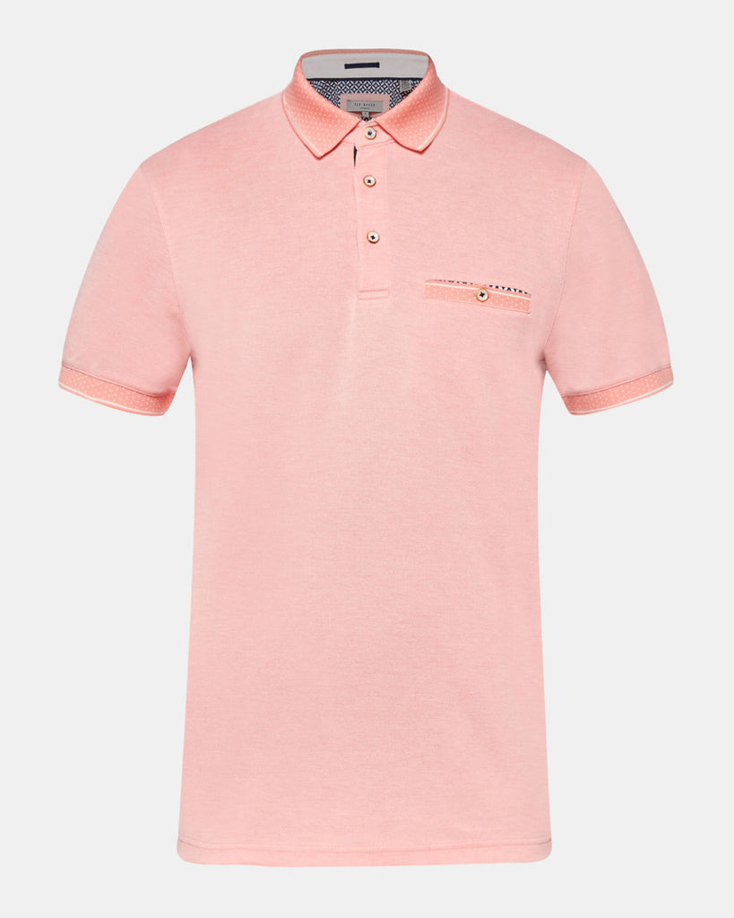 Ted Baker - Cagey Soft Touch Polo (Orange)