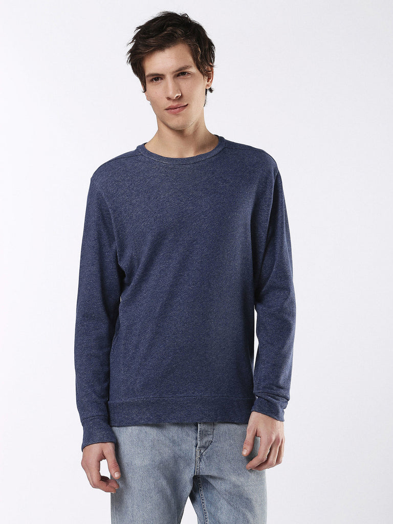 Diesel - Compton casual crew neck sweater (Navy)