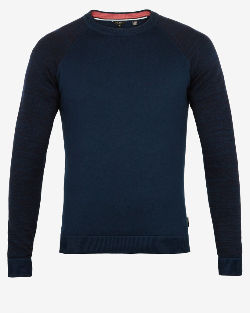 Ted Baker - Cornfed Space Dye Jumper (Teal)