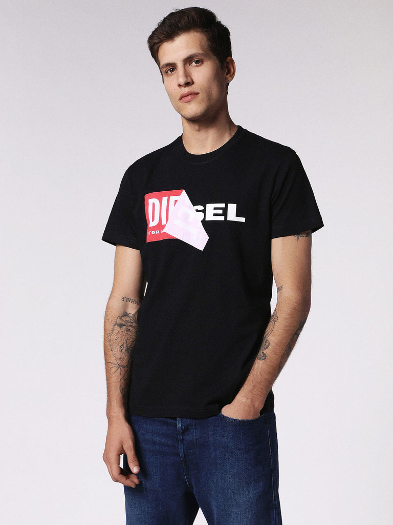 Diesel - Diego pure cotton jersey t-shirt