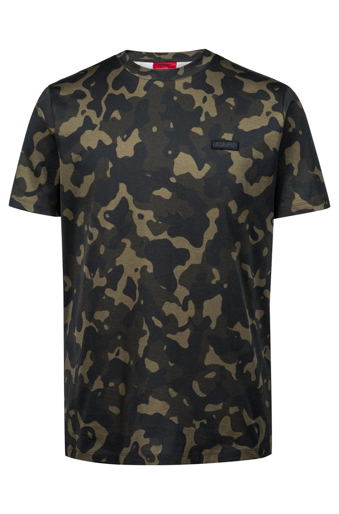 HUGO BOSS - DURNED CAMO PRINT TEE