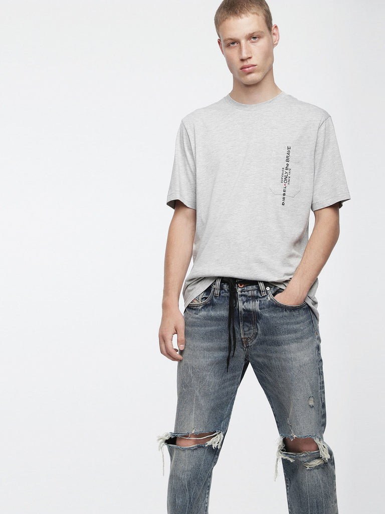 Diesel - Just Pocket Tee (Grey)