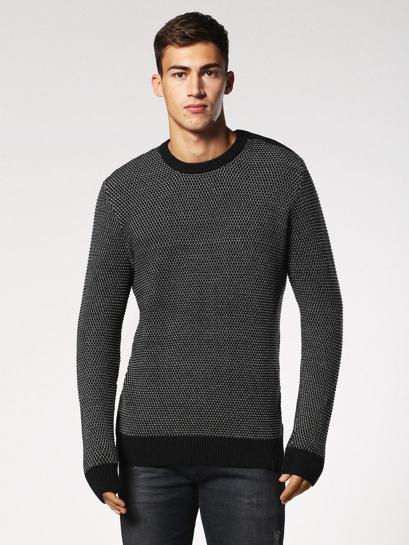 Diesel - Knot woven lightweight cotton sweater