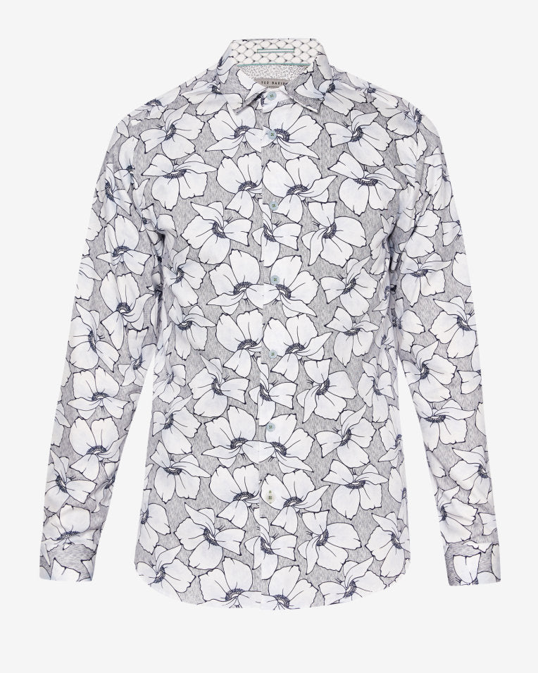 Ted Baker - LIGFLO Floral Printed Shirt