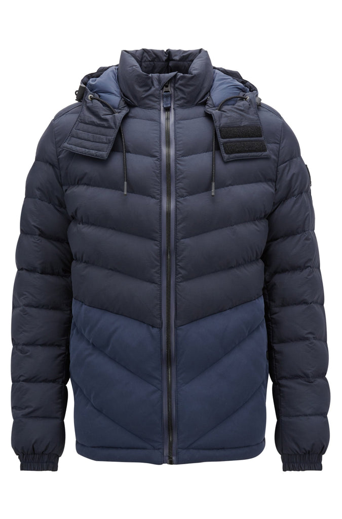 HUGO BOSS - Obrook Water Repellant Padded Jacket