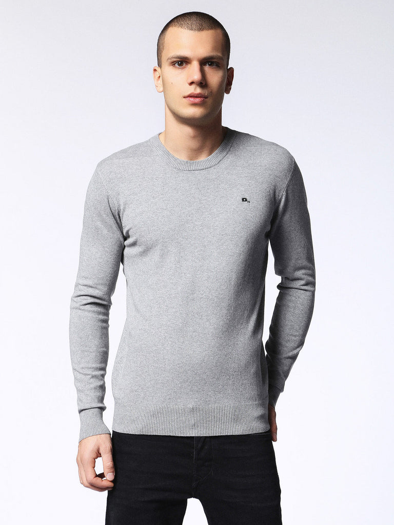 Diesel - Pablo Knitted Jumper (Grey)