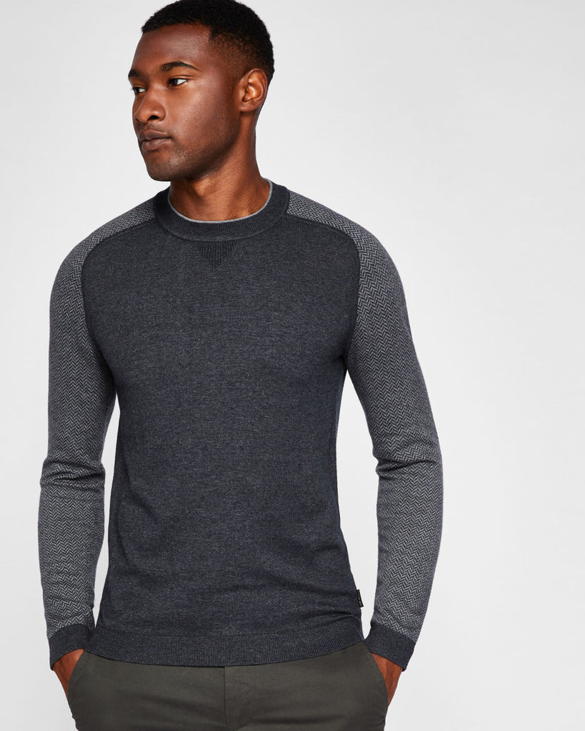 Ted Baker - Pepmint Sweater (Charcoal)