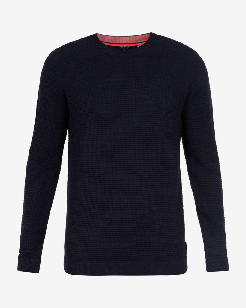 Ted Baker - Percypi Textured Wool Jumper