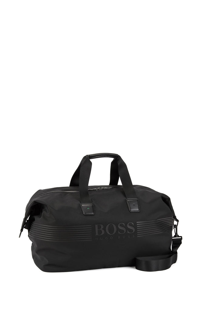 HUGO BOSS - Pixel Nylon Holdall with Waterproof Zips