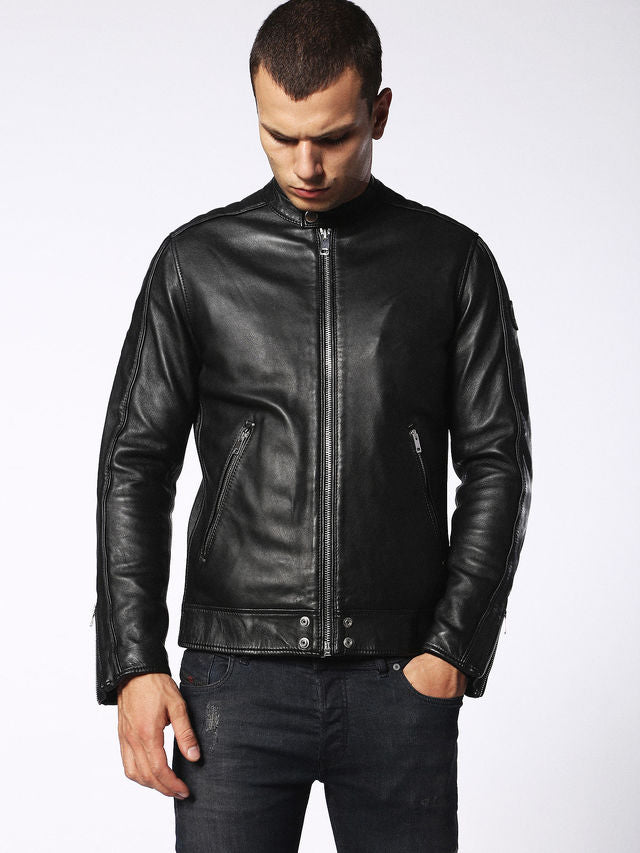 Diesel - Quad Leather Jacket