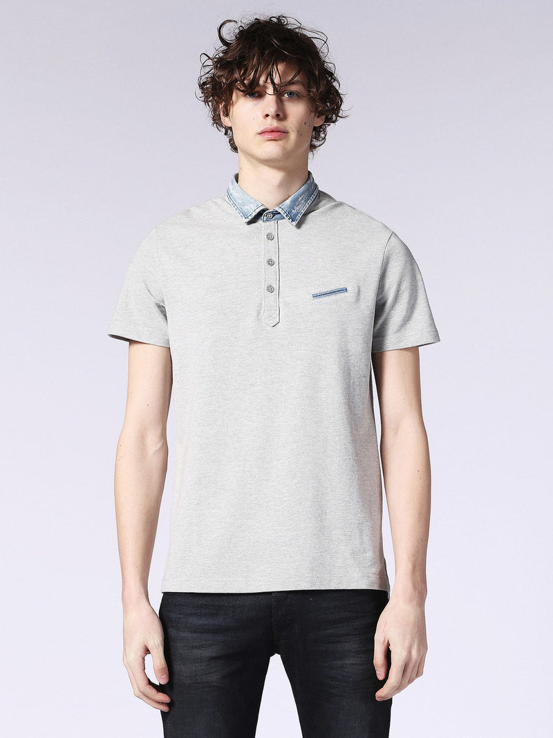 Diesel - Sam denim collared polo