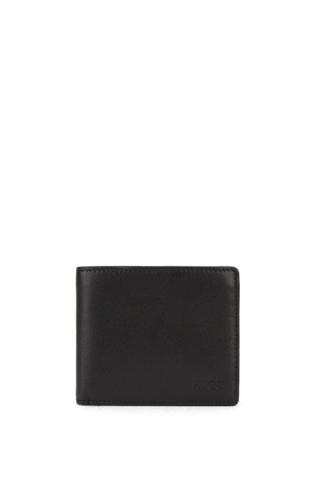 HUGO Red - Subway Bifold wallet with Red inner detail (Black/Red)