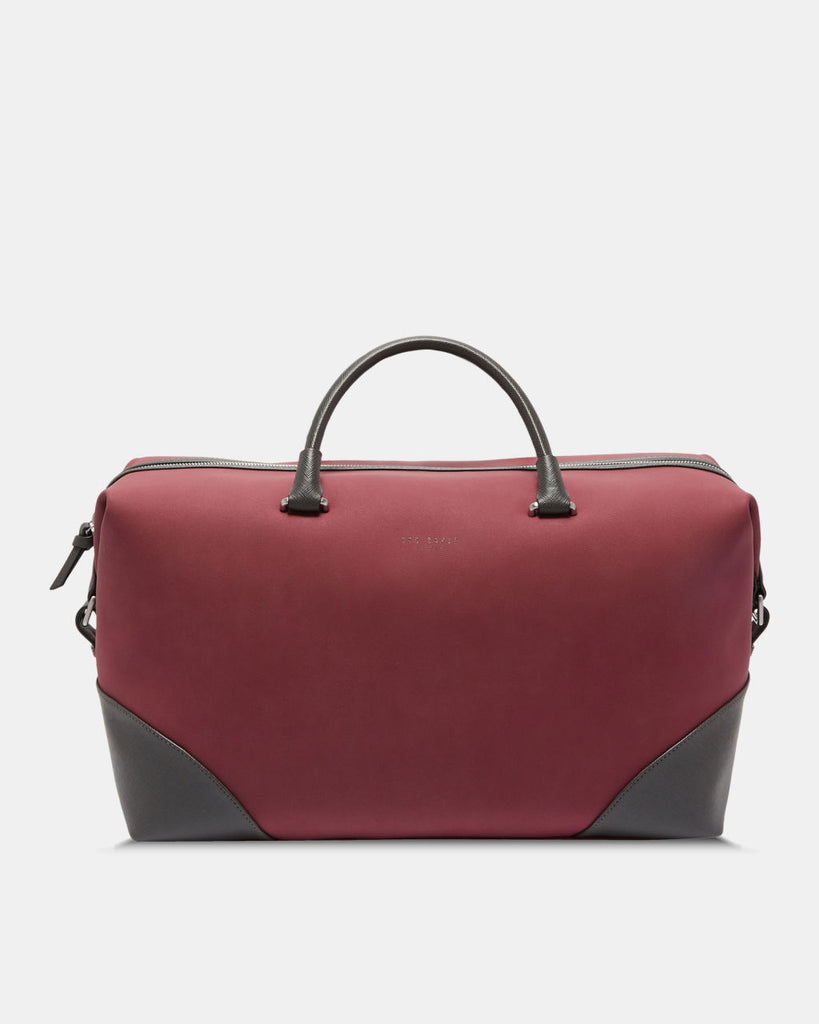 Ted Baker - Swipes faux nubuck holdall