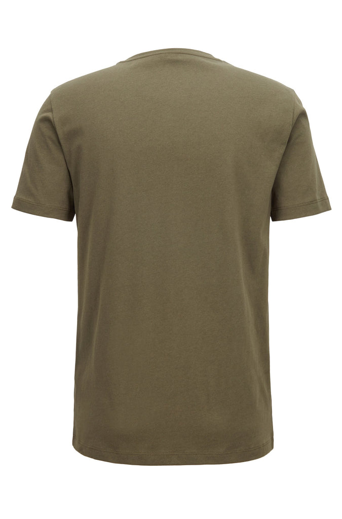 HUGO BOSS - TALES JERSEY COTTON TEE (GREEN)