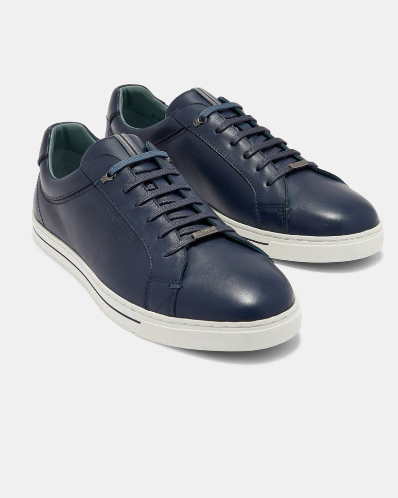 TED BAKER - THAWNE LEATHER TRAINER
