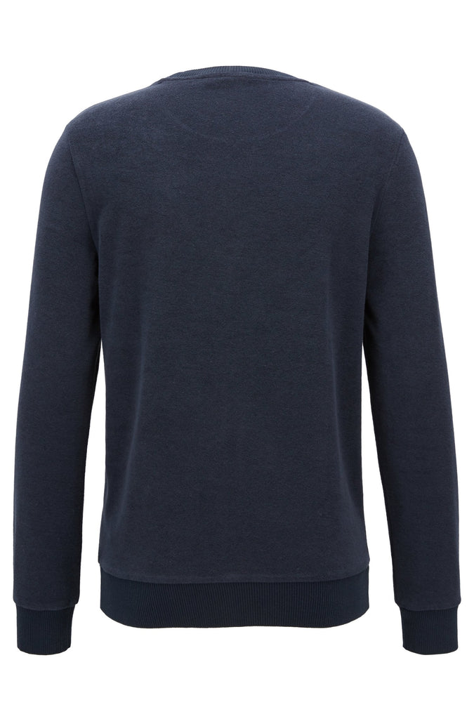 HUGO BOSS - LONG SLEEVE TOWELLING JERSEY