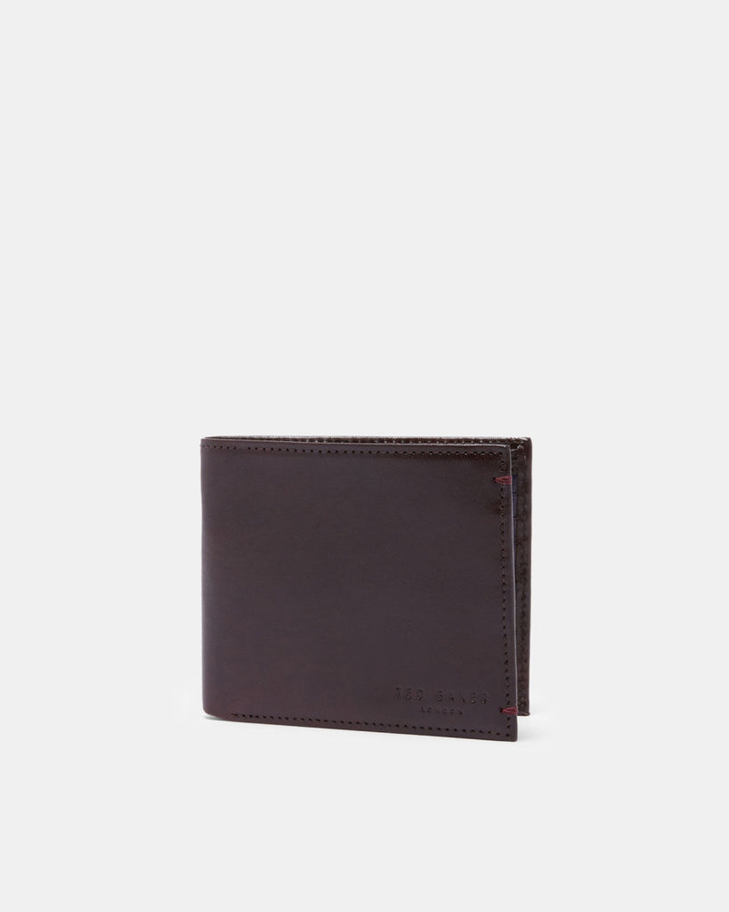 Ted Baker - Vivid Bi-fold leather wallet