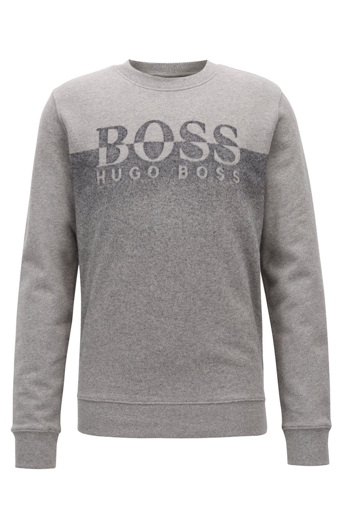 HUGO BOSS - WITHMORE GRADIENT ART SWEATER