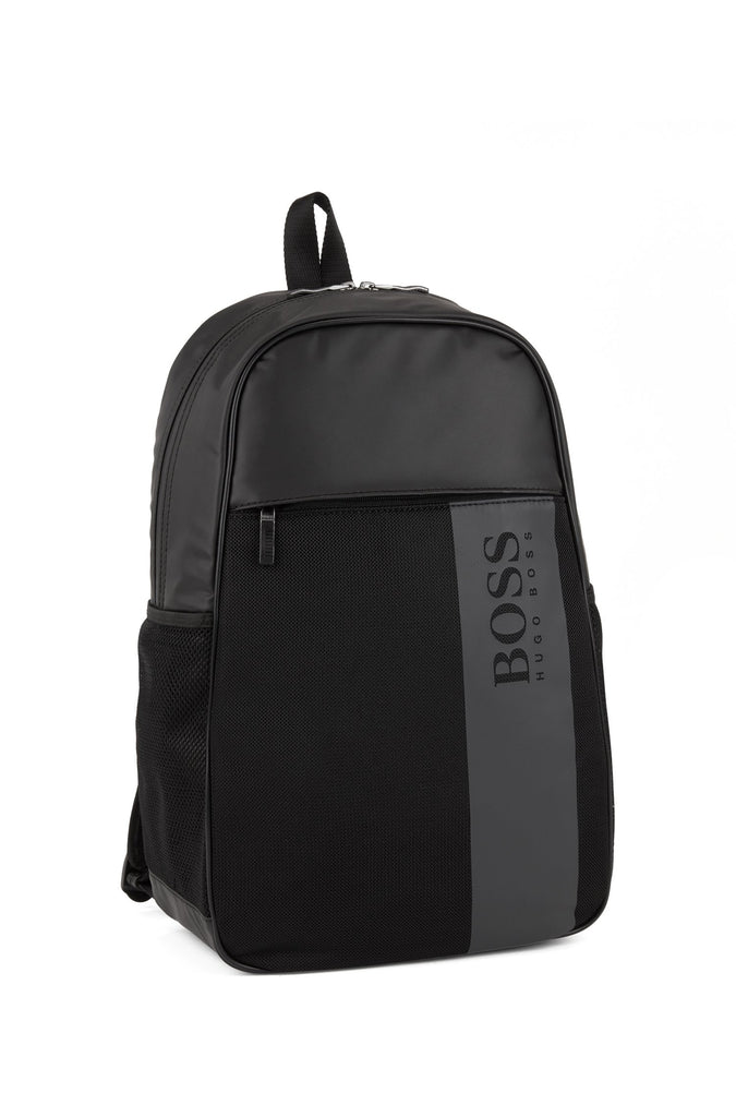 HUGO BOSS - Performe Coated Nylon & Leather Backpack