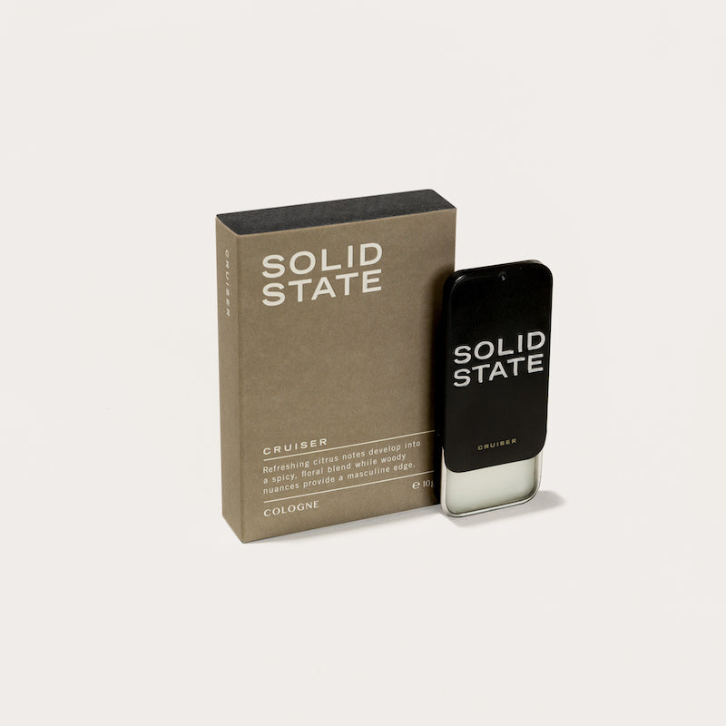 Solid State Cologne - Cruiser - Mexican Tangerine, Ginger & Amber
