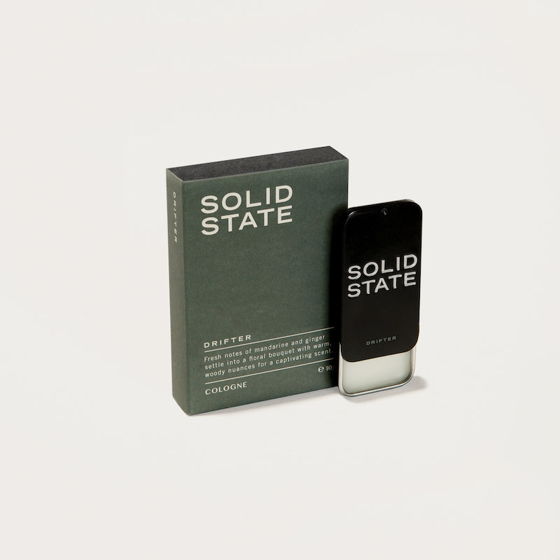 Solid State Cologne - Drifter - Blood Orange, Ginger & Mahogany
