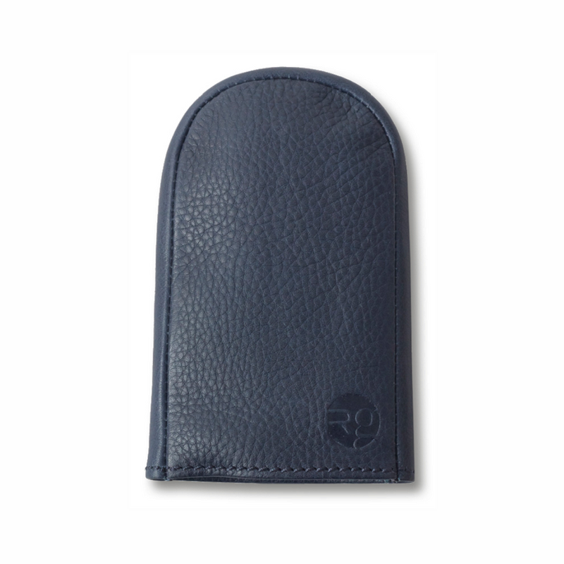 RG - Leather Key Pouch (Navy)