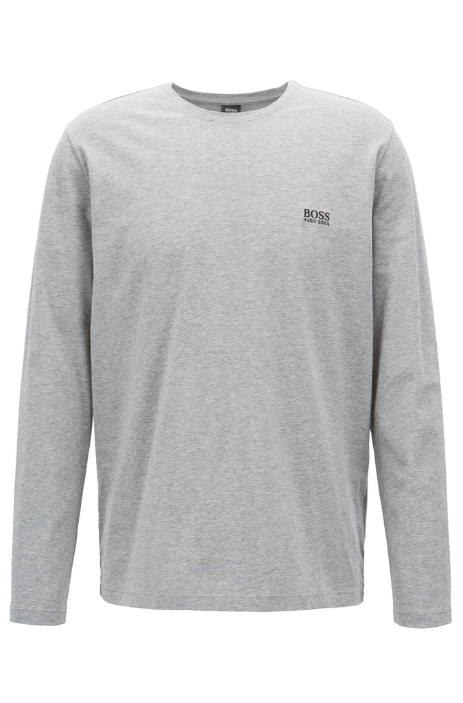 HUGO BOSS - Long Sleeve Loungewear Tee (Grey)