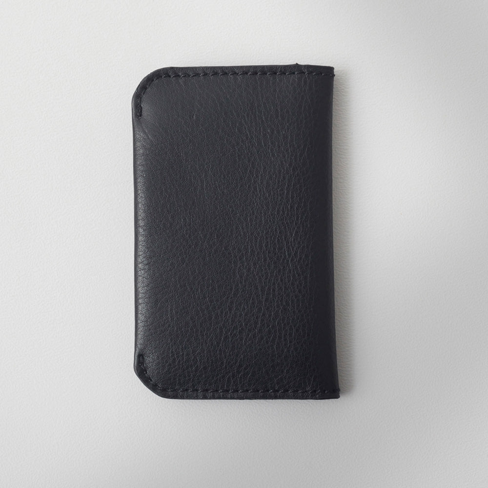 RG - Leather 'On the Town' Card Holder (Black)