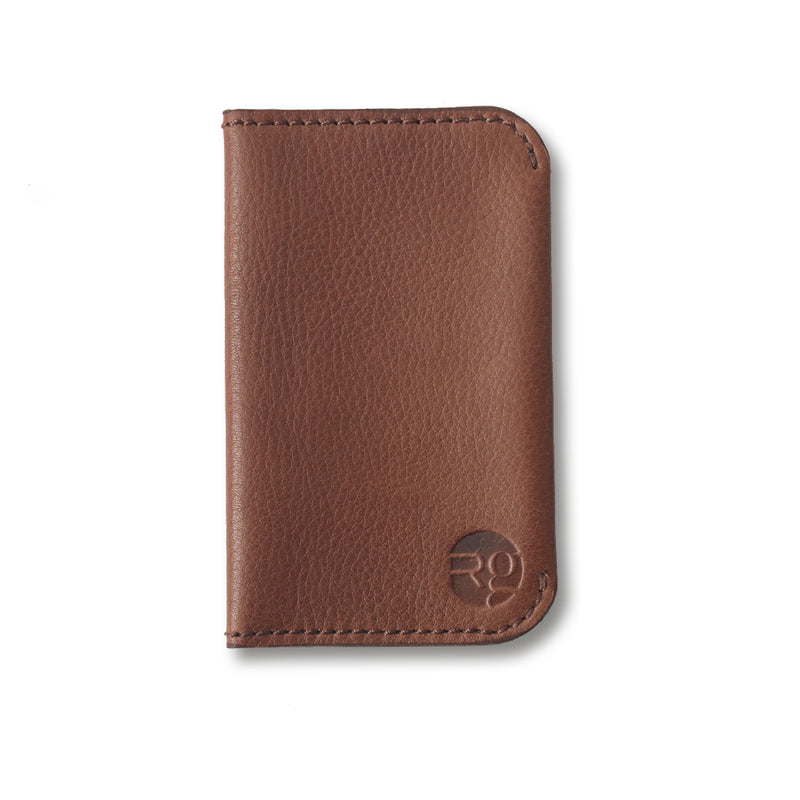 RG - Leather 'On the Town' Card Holder (Tan)