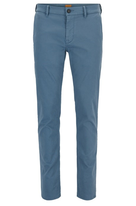 Boss Orange - Schino Slim Trousers - Open Blue
