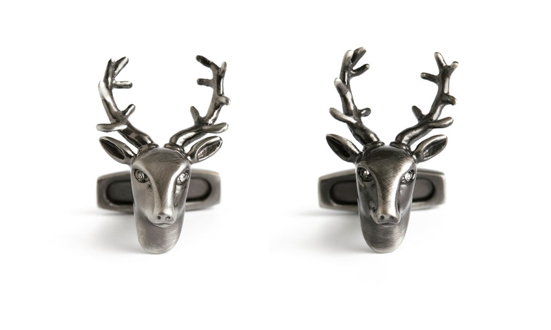 Simon Carter - Stag Head Cufflinks