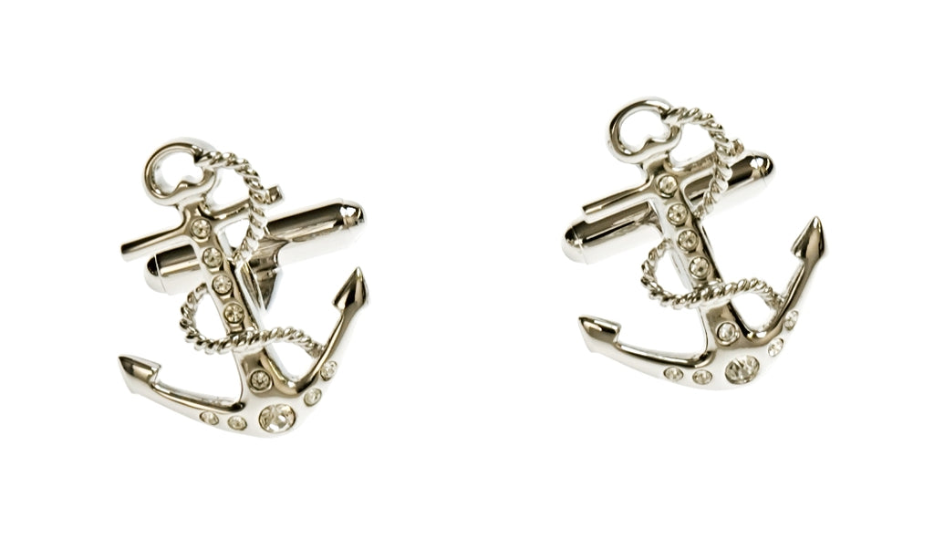 Simon Carter - Tattoo Anchor Cufflinks