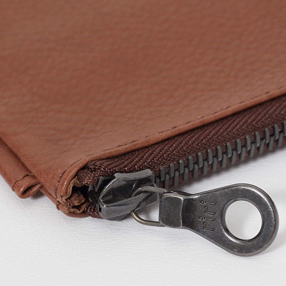 RG - Leather Travel Pouch (Tan)