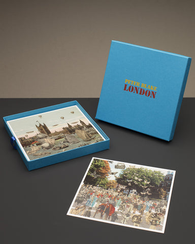 Peter Blake - Coffret de 20 cartes - Londres