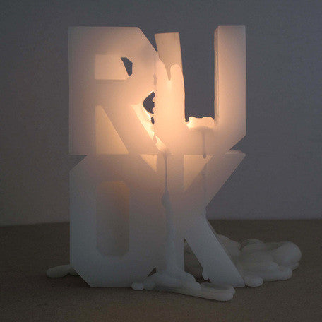 Rose Nolan, RUOK Candle, 2009